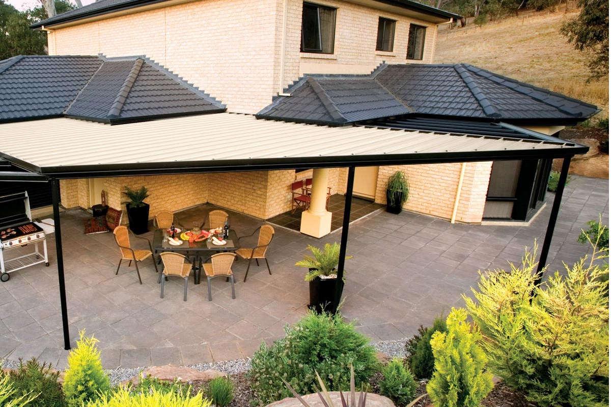 Economical Flat Roof Verandahs Pergolas And Patios