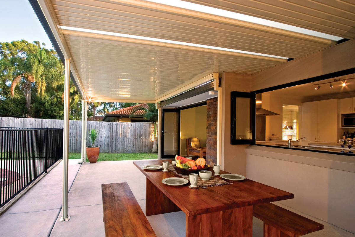 Economical Flat Roof Verandahs Pergolas And Patios