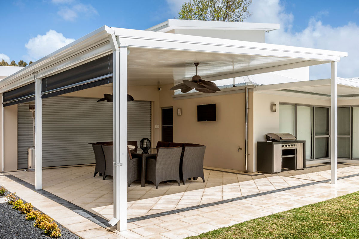 Beat The Heat With An Insulated Roof Verandah Or Patio