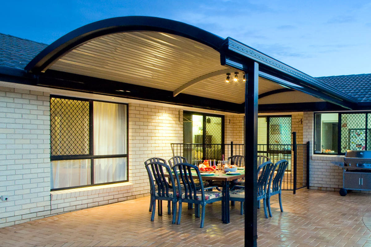 Beautiful Curved Roof Patios And Verandahs