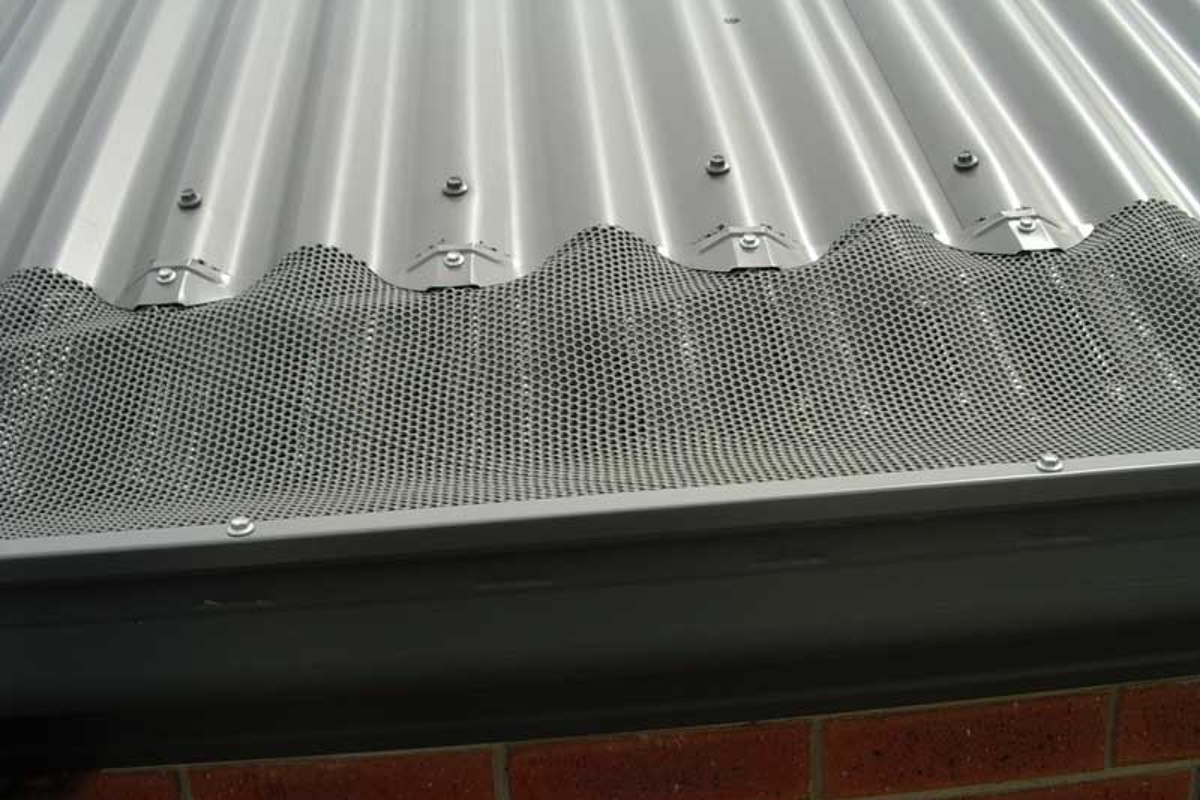 Gutter Guard And Leaf Mesh